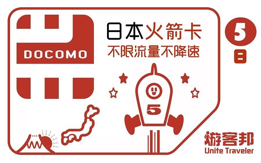 日本火箭卡(五日)